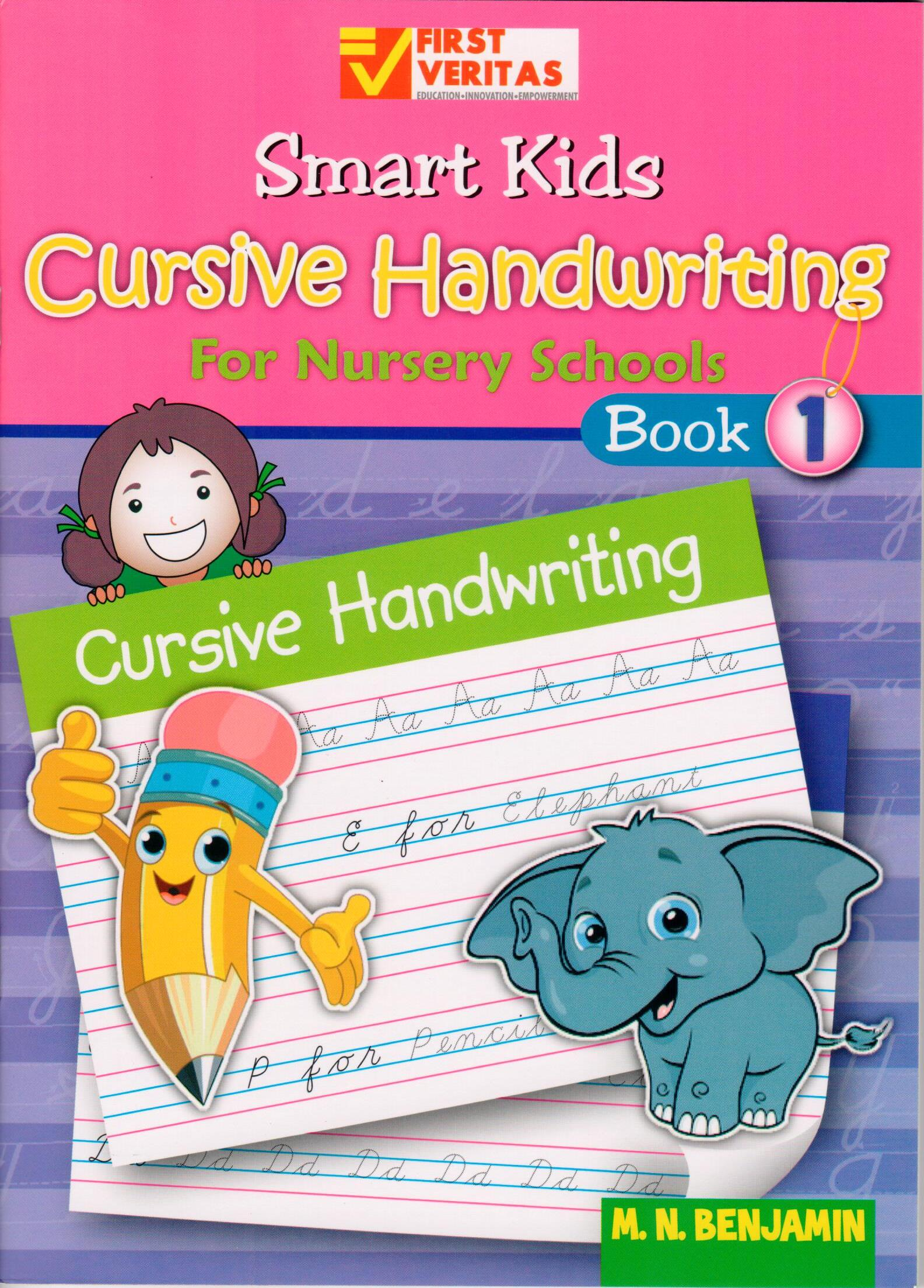 Smart kids cursive handwriting for nursery school 1 Calligraphy books free